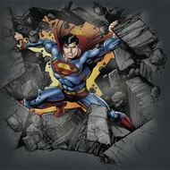 Superman Make A Hole Shirts