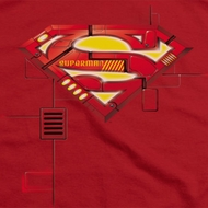 Superman Mech Shield Shirts