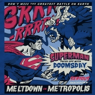 Superman Meltdown Shirts