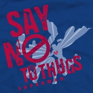 Superman No To Thugs Shirts