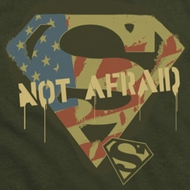 Superman Not Afraid Shirts