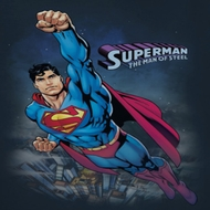 Superman Over The City Shirts