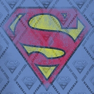 Superman Repeat Over Distressed Sublimation Shirts