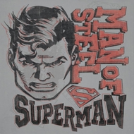 Superman Retro Lines Shirts