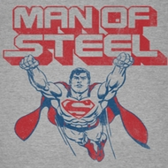 Superman Retro Steel Shirts