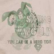 Superman Saving The World Shirts
