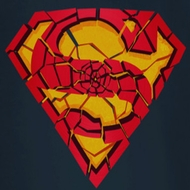 Superman Shattered Shield Shirts