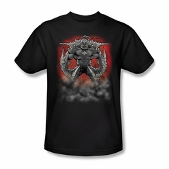 Superman Shirt Doomsday Dust Black T-Shirt