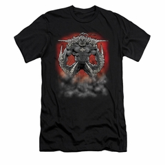 Superman Shirt Slim Fit Doomsday Dust Black T-Shirt