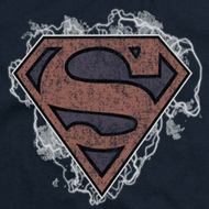 Superman Storm Clouds Shirts