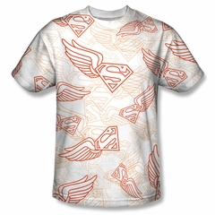 Superman Super Flight Sublimation Shirt