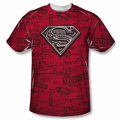 Superman Super Powers Sublimation Shirt