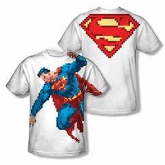 Superman Superbit Sublimation Kids Shirt Front/Back Print