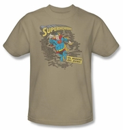 Superman T-shirt Superhombre 2 Spanish Superhero Adult Tee Shirt