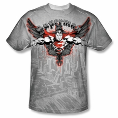 Superman Take Wing Sublimation Shirt