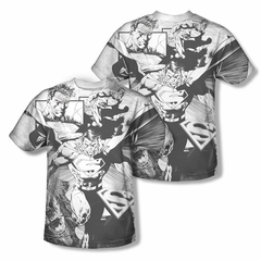 Superman The Power Within Sublimation Shirt Front/Back Print
