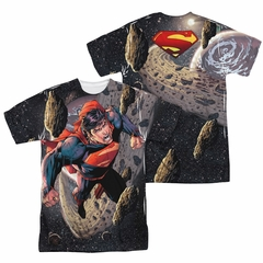 Superman Up Up Sublimation Shirt Front/Back Print