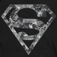 Superman Urban Digi Camo Shield Shirts