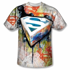 Superman Urban Shields Sublimation Shirt