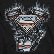 Superman V Twin Logo Shirts