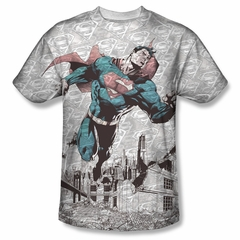 Superman Warzone Sublimation Shirt