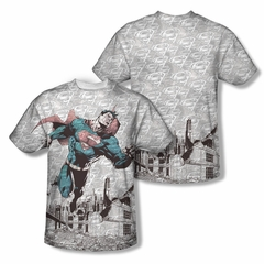 Superman Warzone Sublimation Shirt Front/Back Print