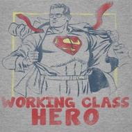 Superman Working Class Hero Shirts