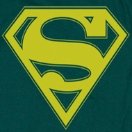 Superman Yellow Shield Shirts