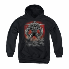 Superman Youth Hoodie Doomsday Dust Black Kids Hoody