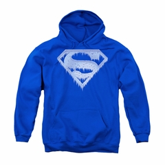 Superman Youth Hoodie Ice Shield Royal Kids Hoody