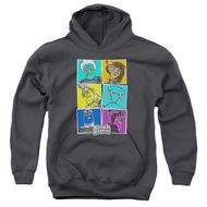 SuperMansion Kids Hoodie Comic Charcoal Youth Hoody