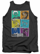 SuperMansion Tank Top Comic Charcoal Tanktop