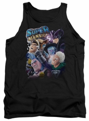 SuperMansion Tank Top Group Black Tanktop