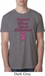 Support Breast Cancer Awareness Burnout T-shirt