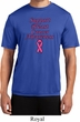 Support Breast Cancer Awareness Dry Wicking T-shirt