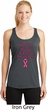Support Breast Cancer Awareness Ladies Dry Wicking Racerback