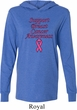 Support Breast Cancer Awareness Lightweight Hoodie