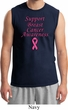 Support Breast Cancer Awareness Muscle Shirt