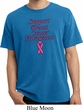 Support Breast Cancer Awareness Pigment Dyed T-shirt