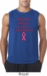 Support Breast Cancer Awareness Sleeveless Shirt