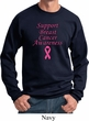 Support Breast Cancer Awareness Sweatshirt