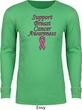 Support Breast Cancer Awareness Thermal Shirt