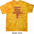 Support Breast Cancer Awareness Tie Dye T-shirt