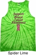 Support Breast Cancer Awareness Tie Dye Tank Top
