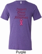 Support Breast Cancer Awareness Tri Blend Tee