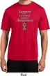 Support Carcinoid Cancer Awareness Dry Wicking T-shirt
