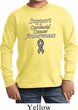Support Carcinoid Cancer Awareness Kids Long Sleeve