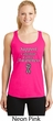 Support Carcinoid Cancer Awareness Ladies Dry Wicking Racerback