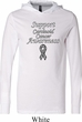 Support Carcinoid Cancer Awareness Lightweight Hoodie