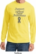 Support Carcinoid Cancer Awareness Long Sleeve